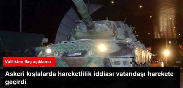 Ankara ve İstanbul'daki Askeri Kışlalarda Hareketlilik İddiası