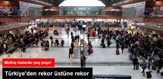 Atatürk ve Sabiha Gökçen Havalimanı'nda Yolcu Rekoru Kırıldı