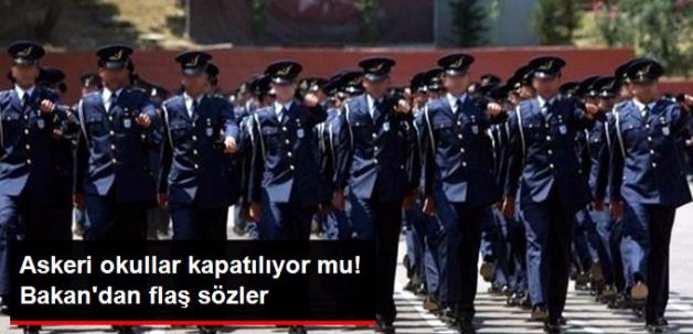 Bakan Tüfenkci, Askeri Liselerin Kapatılabileceğini Söyledi