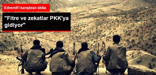 """Balıkesir Edremit'te """"Fitre ve Zekatlar PKK'ya Gidiyor"""" İddiası"""
