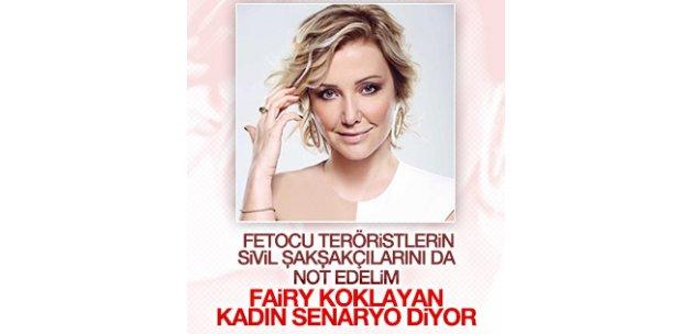 Berna Laçin'den skandal tweet