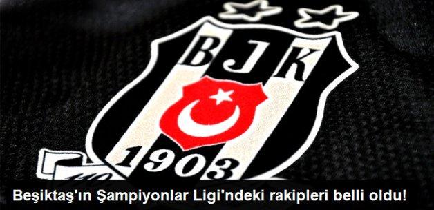Beşiktaş Mogaz'ın Şampiyonlar Ligi Grubu Belli Oldu