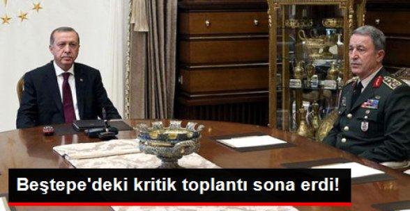 Beştepe'deki Kritik Toplantı Sona Erdi!