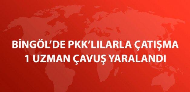 Bingöl'de PKK'lılarla Çatışma: 1 Uzman Çavuş Yaralı