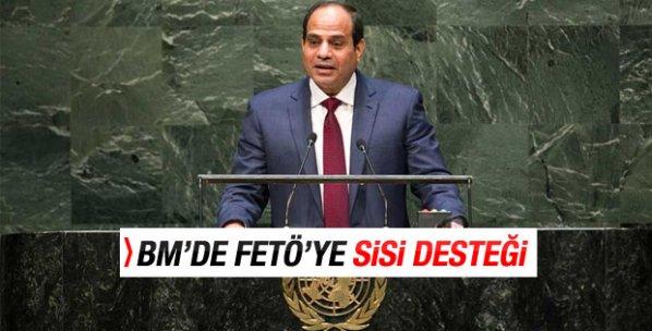 BM'de FETÖ'nün kınanmasına Sisi engeli