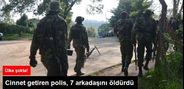 Cinnet Getiren Polis 7 Arkadaşını Öldürdü