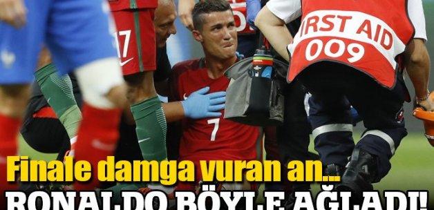 Cristiano Ronaldo finalde hüngür hüngür ağladı