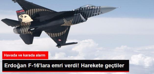 Cumhurbaşkanı Erdoğan'dan F-16 Talimatı