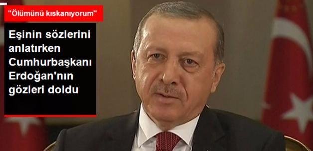 Cumhurbaşkanı Erdoğan, Darbe Girişimini Anlatırken Gözyaşlarına Hakim Olamadı