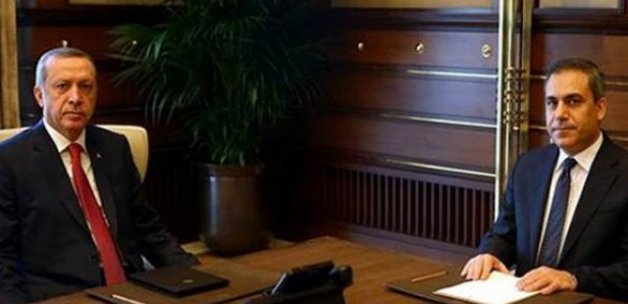 Cumhurbaşkanı Erdoğan, Hakan Fidan ile görüşecek
