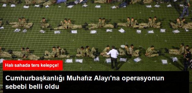 Cumhurbaşkanlığı Muhafız Alayı'ndaki Askerler TRT'yi Basmış!