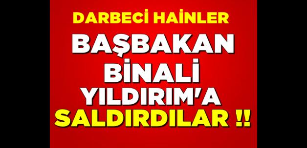 Darbeci askerlerden Binali Yıldırım'a taciz!