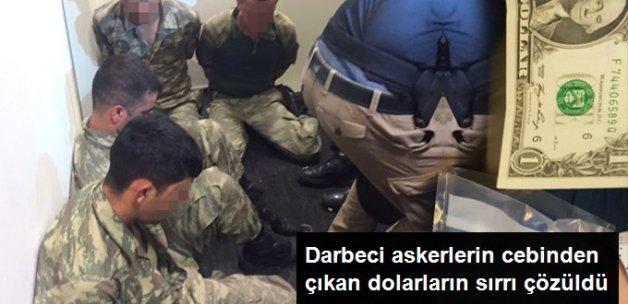 Darbeci Askerlerin Cebinden FETÖ Liderinin Okuduğu Dolarlar Çıktı
