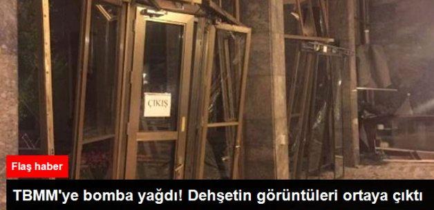 Darbeciler Meclis'e Bomba Yağdırdı! Dehşetin Görüntüleri Ortaya Çıktı