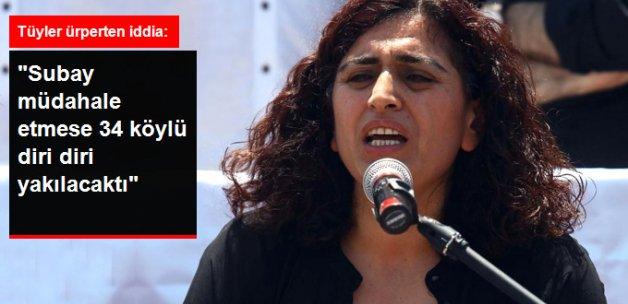 DBP'li Tuncel: Lice'de Subay Müdahale Etmese 34 Köylü Yakılacaktı
