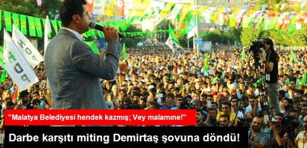 Demirtaş, Hükümeti Malatya'yla Vurdu: Hani Hendek İhanetti