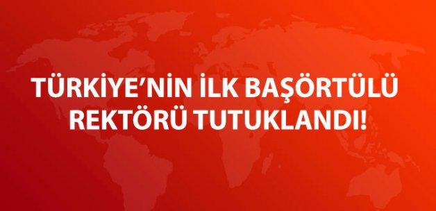 Dicle Üniversitesi Rektörü Prof. Dr. Ayşegül Jale Saraç Tutuklandı