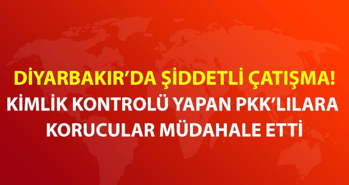 Diyarbakır'da PKK ile Korucular Arasında Çatışma Çıktı