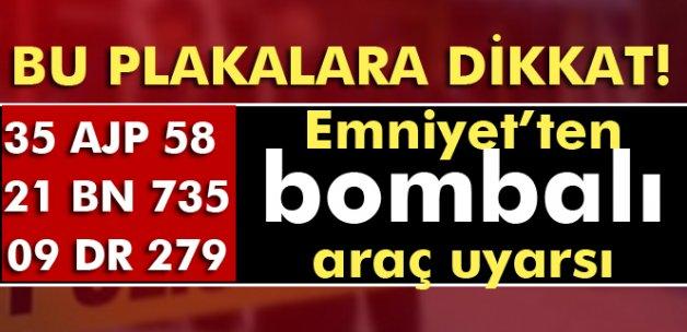 Diyarbakır'da bombalı araç alarmı