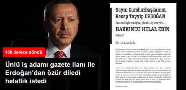 Dumankaya İnşaat'tan Erdoğan'a FETÖ İtirafı: Hakkınızı Helal Edin, Biz de Aldatıldık