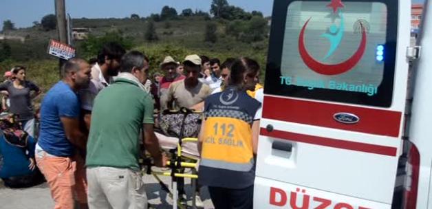 Düzce'de Trafik Kazası: 1 Ölü, 1 Yaralı!