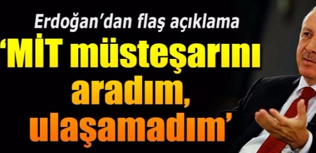 Erdoğan Reuters'a değerlendirme
