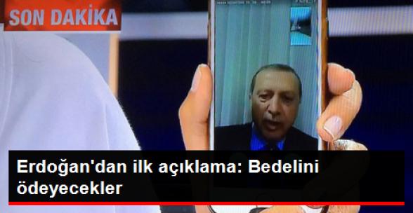 Erdoğan'dan İlk Açıklama: Ben Bu ülkenin Baş Komutanıyım!
