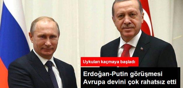 Erdoğan ile Putin'in Görüşecek Olmasından Almanya Çok Rahatsız