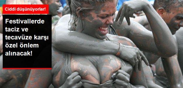 Festivallerde Tacize Karşı Özel Önlem Alınacak
