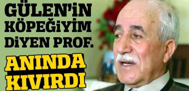 """""""Fethullah Gülen'in köpeğiyim"""" demişti! Gözaltında çark etti"""