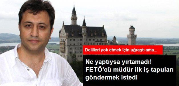 FETÖ'nün Tapularını Göndermek İsteyen Emniyet Müdürü Tutuklandı