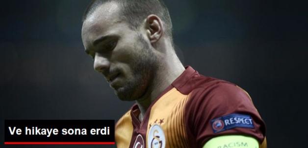 Galatasaray'da Sneijder Devri Sona Erdi