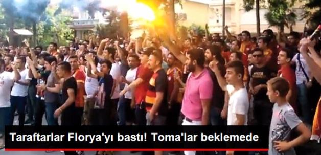 Galatasaraylı Taraftarlar Florya'yı Bastı, Yönetimi İstifaya Çağırdı