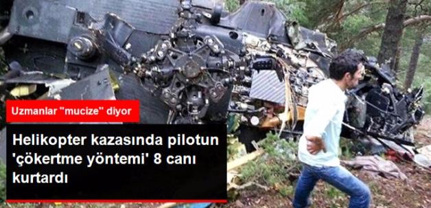 Giresun'da Pilotun 'Çökertme Yöntemi' 8 Hayatı Kurtardı