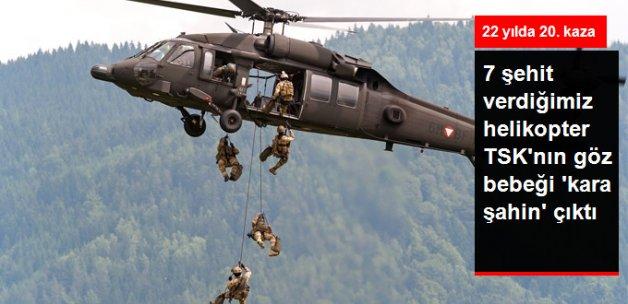 Giresun'da Düşen Helikopter TSK'nın Göz Bebeği S-70 Sikorsy Çıktı