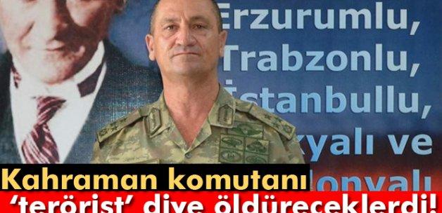 Hainler, komutanı 'terörist' diye öldürteceklerdi