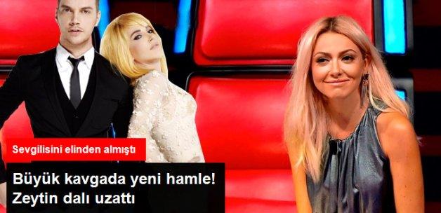 Hande Yener'den Hadise'ye Zeytin Dalı