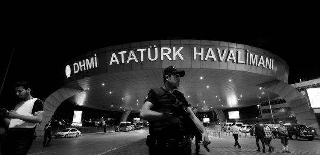 Havalimanı saldırısıyla ilgili yabancı uyruklu altı kişi gözaltına alındı