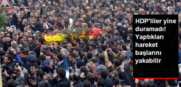 HDP Milletvekilleri Teröristin Cenaze Töreninde