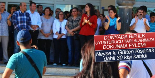 HDP ve DBP'den uyuşturucu operasyonuna karşı eylem