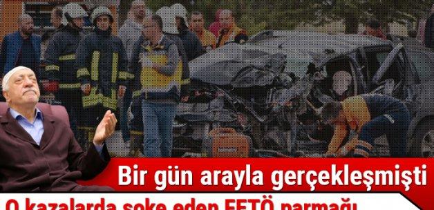 İki korkunç kazadaki FETÖ şüphesi