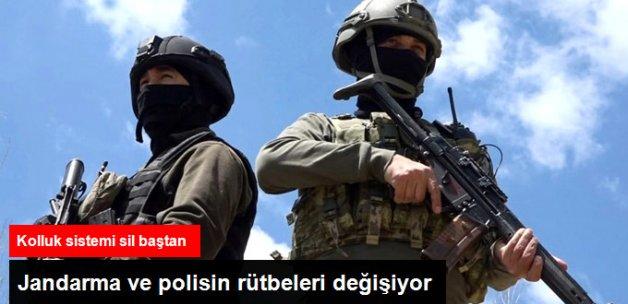 İl Emniyet Başkanlıkları Geliyor! Jandarma ve Poliste Rütbeler Değişiyor