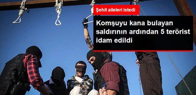 Irak'ı Kana Bulayan Saldırısının Ardından, 5 Terörist İdam Edildi