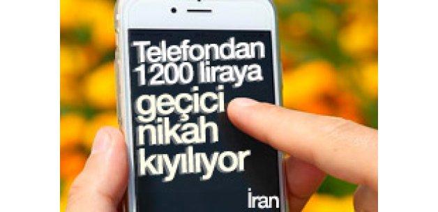 İran'da mobil uygulama üzerinden geçici nikah