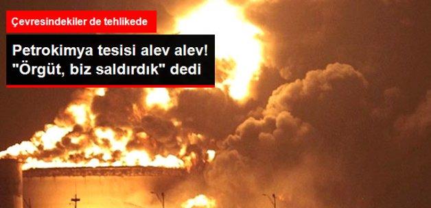İran'daki Petrokimya Tesisinde Korkutan Yangın