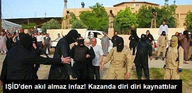 IŞİD Cepheden Kaçan 7 Militanı Diri Diri Kaynatarak İnfaz Etti