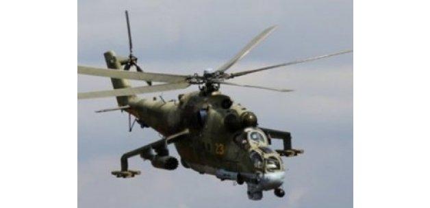 IŞİD Suriye'de Rus helikopterini düşürdü: 2 pilot öldü