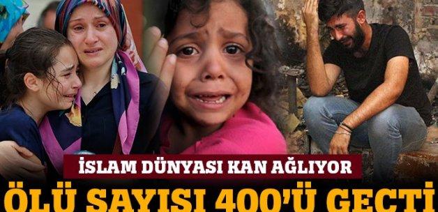 İslam dünyası kan ağlıyor