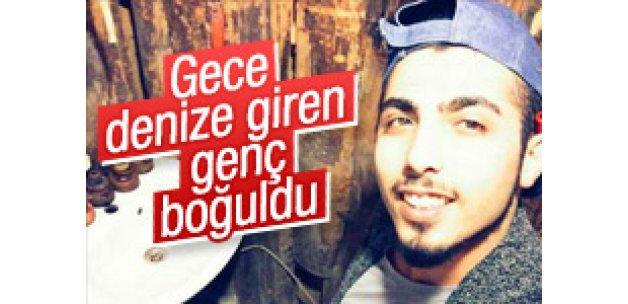 İstanbul'da gece denize giren genç boğuldu