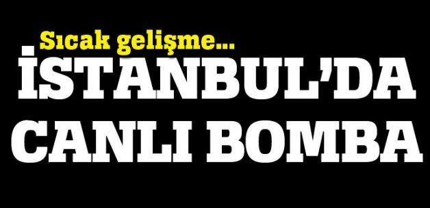 İstanbul'da kara çarşaflı canlı bomba paniği!